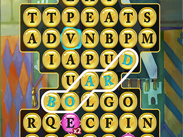 Find words to earn high scores!
