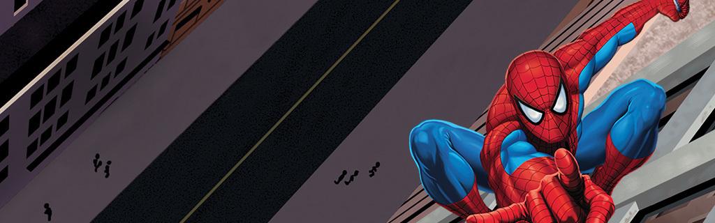 Spider-Man Activities Section Hero