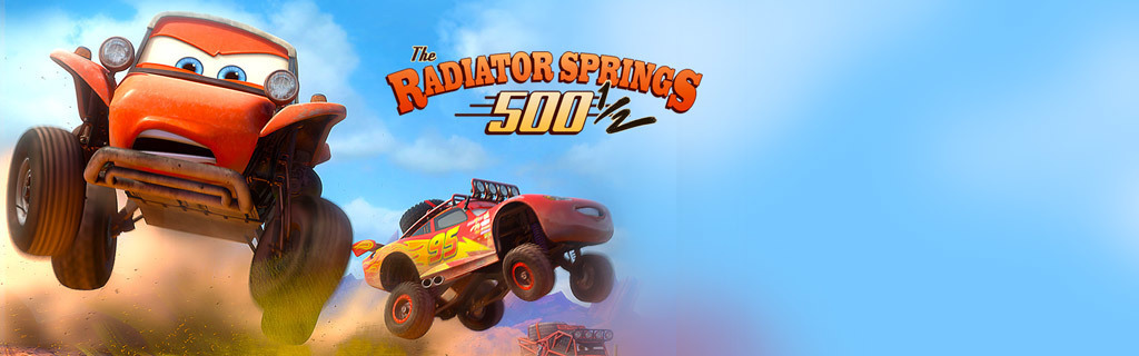 Radiator Springs 5001/2 Now Playing