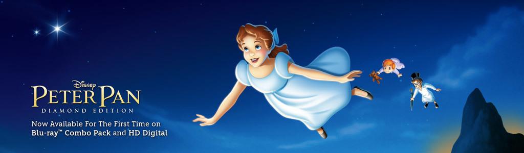 Peter Pan video hero