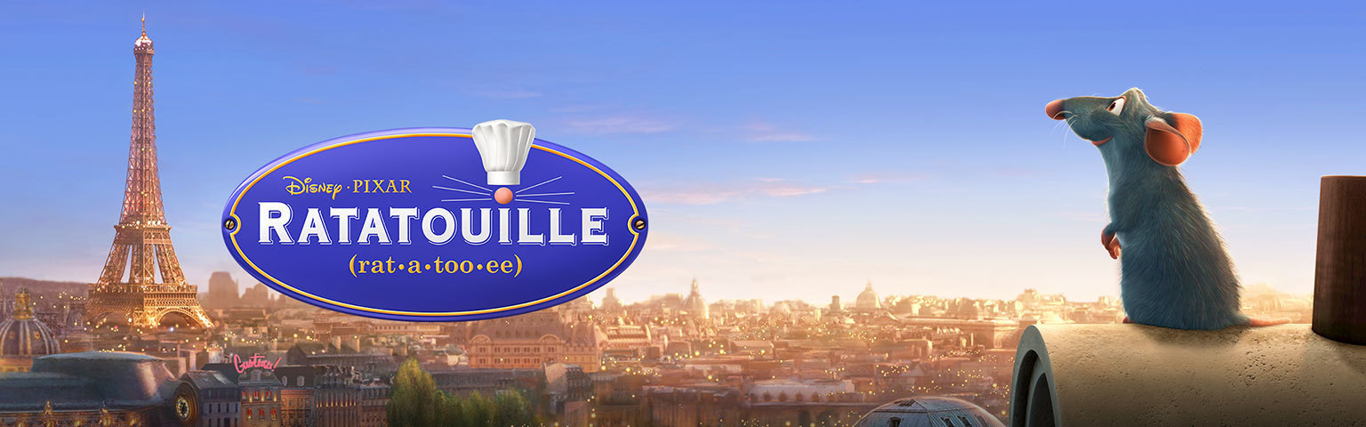 Ratatouille - Home Hero