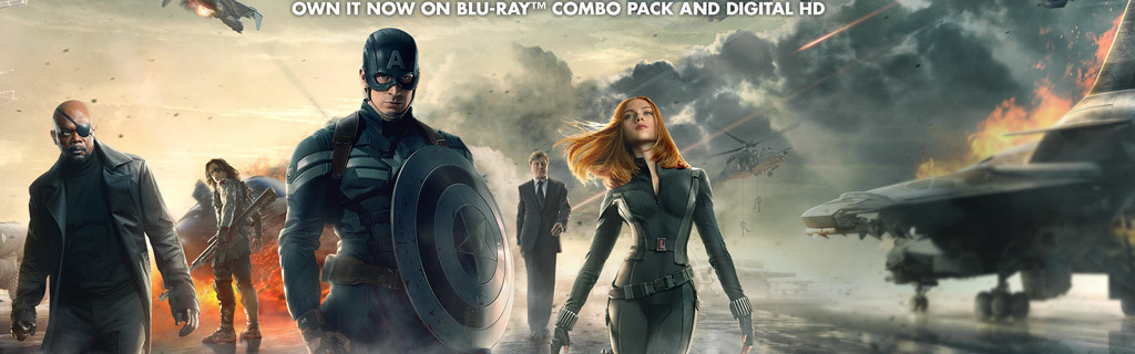 Marvel - Captain America: TWS - Own it now on Digital HD and Blu-ray
