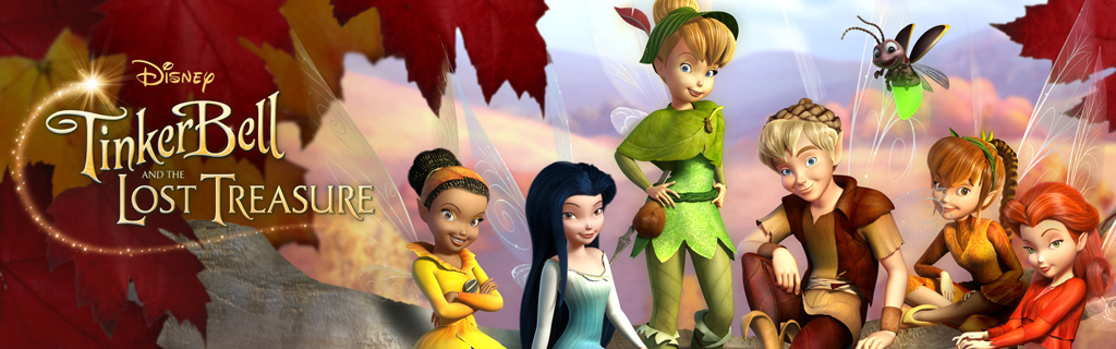 Tinker Bell and the Lost Treasure - Movie Page Hero