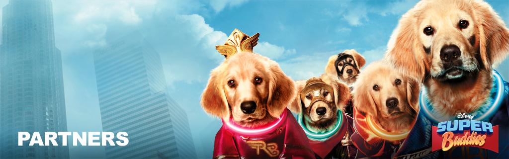 Super Buddies Partners Hero