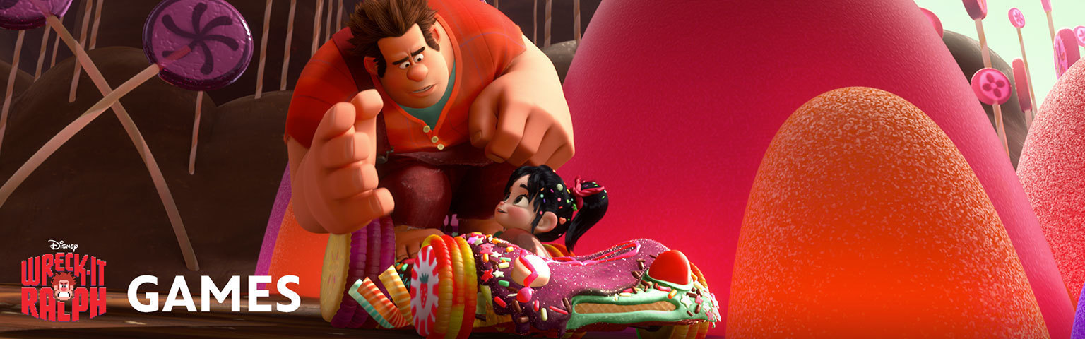 Wreck It Ralph-Games