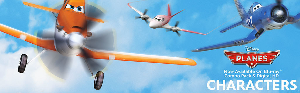 Planes - Characters Hero