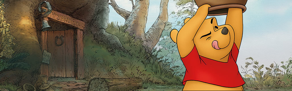 Winnie the Pooh - Character Page - Hero