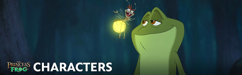 Princess and the Frog - Characters