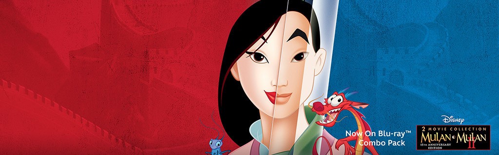 Mulan 2-Movie Collection - Key Art Universal Hero