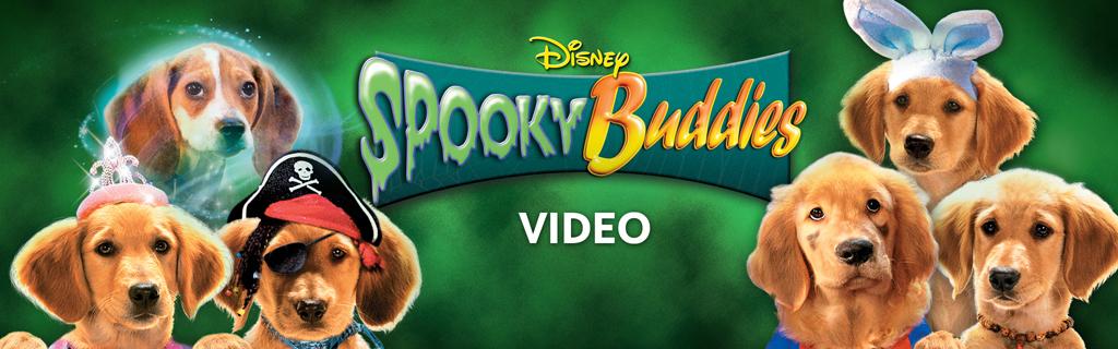 Spooky Buddies Video Hero