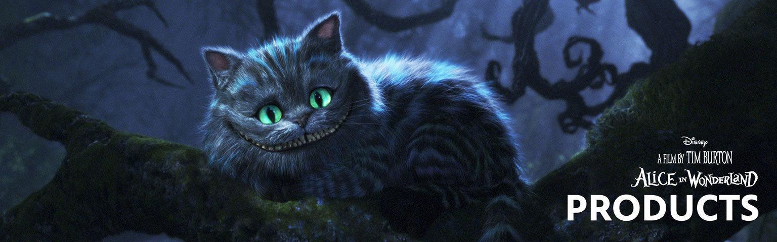 Alice in Wonderland - Products Hero