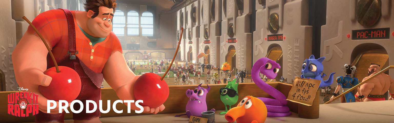 Wreck It Ralph-Products