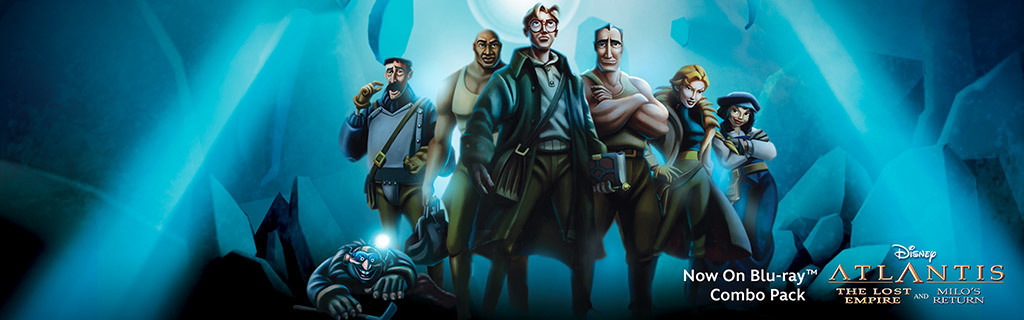 Atlantis 2-Movie Collection - Key Art Universal Hero