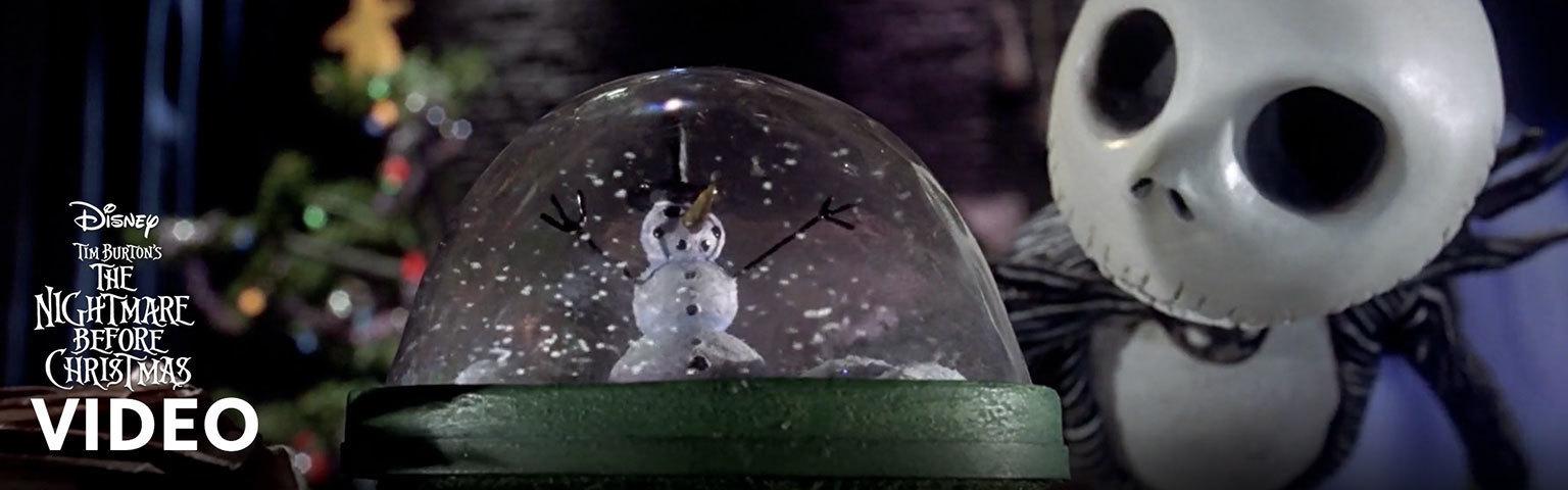 Nightmare Before Christmas - Video Hero