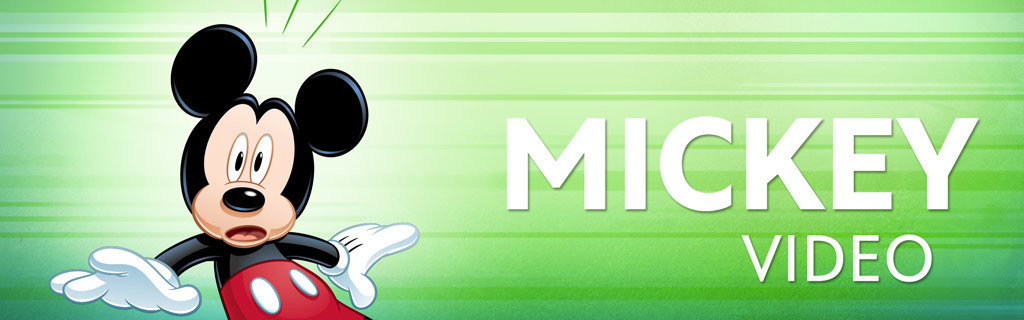 Mickey Character Page - Video hero