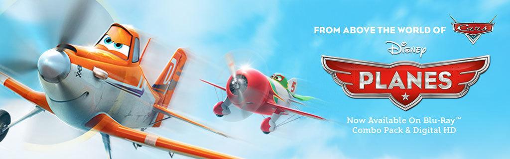 Planes - Home Hero