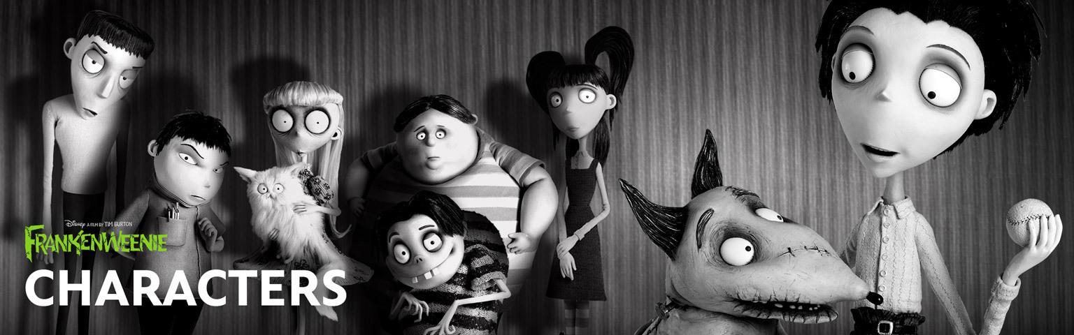 Frankenweenie - Characters