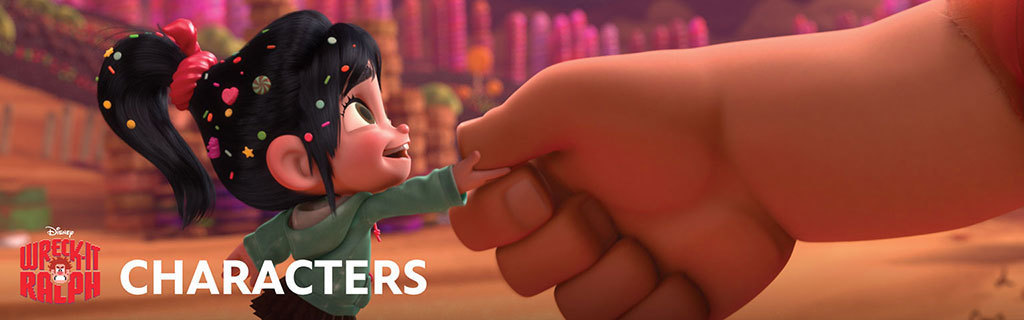 Wreck It Ralph-Characters