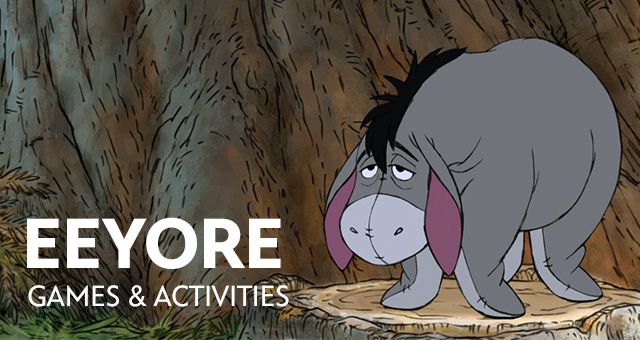 EEYORE GAMES - GAMES KIDS ONLINE - GAMES-KIDS.COM