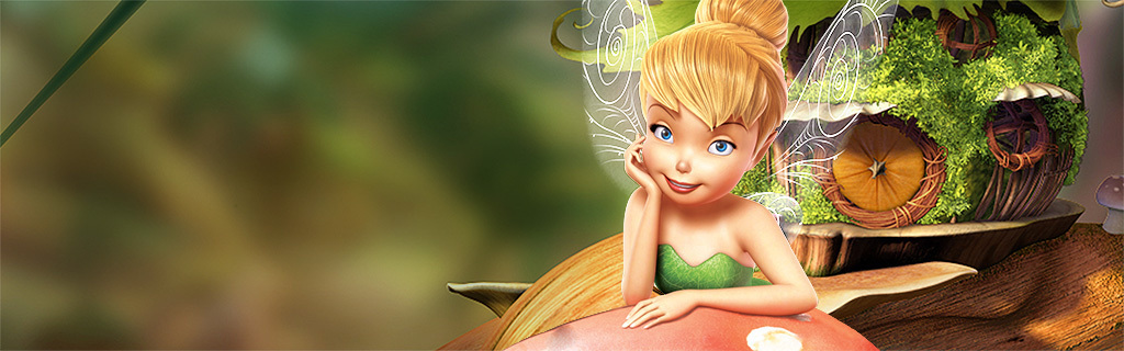 Tinker Bell Character Page Hero