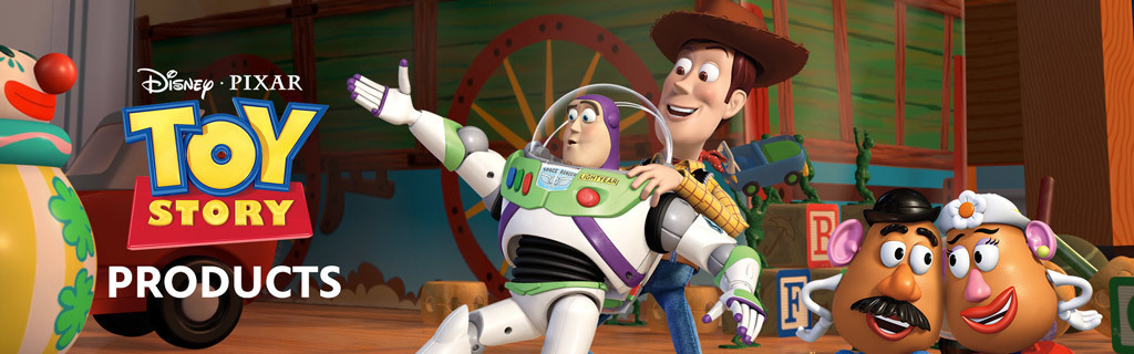 Toy Story Franchise Products Hero