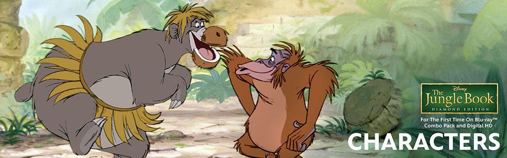 Jungle Book - Characters