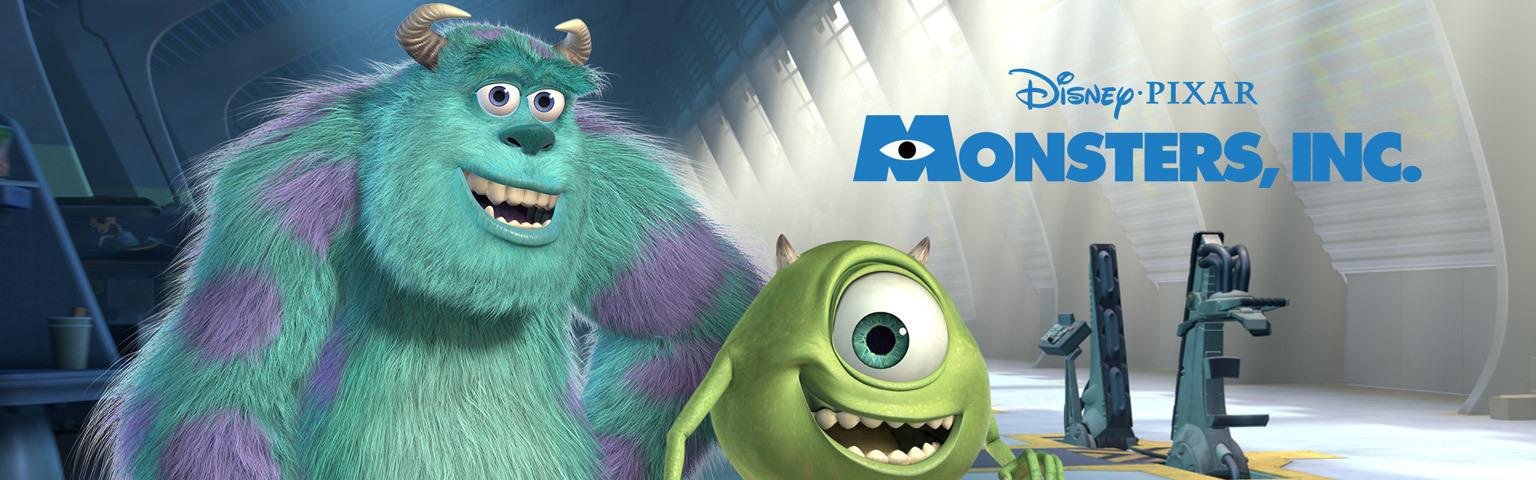 Monsters, Inc. Homepage Hero