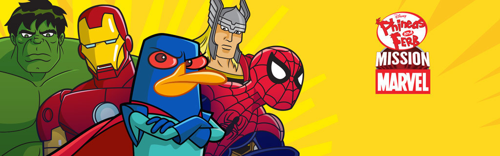 Phineas and Ferb Mission Marvel Hero - Show Site