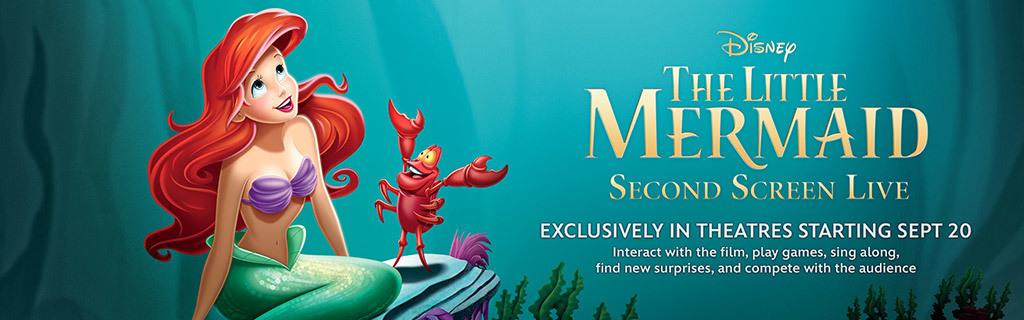 Little Mermaid Second Screen
