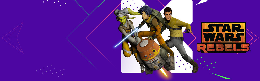Star Wars Rebels Dynamic Homepage Hero