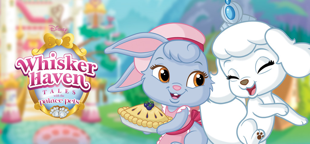 Palace Pets - Whisker Haven AU - Home Page Hero