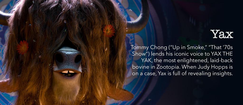 Zootopia - Yax Character - SG