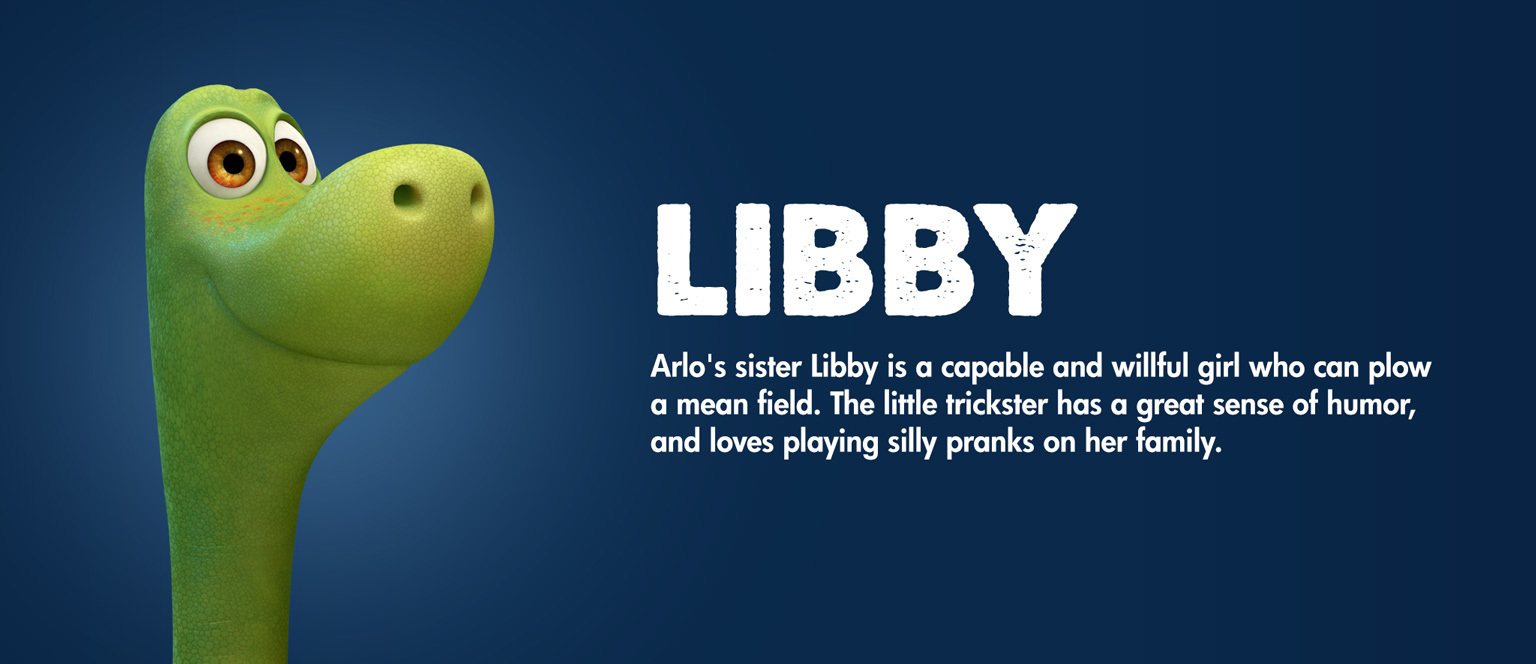 The Good Dinosaur - Character - Libby