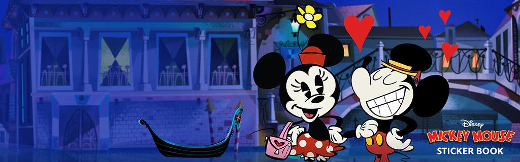 Mickey Sticker Book - Valentine Version