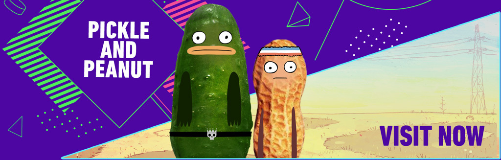 Pickle and Peanut Character Homepage