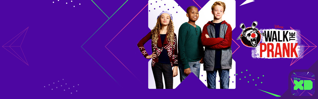 Walk the Prank - Dynamic XD Homepage Hero