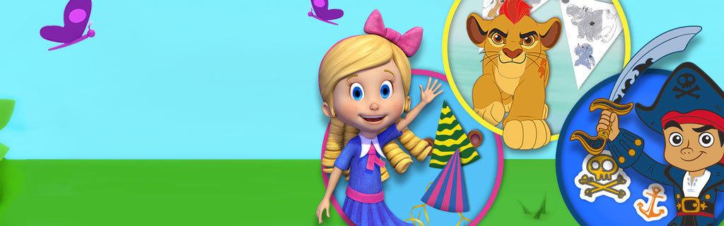 Disney Junior - Summer Party - Homepage Hero