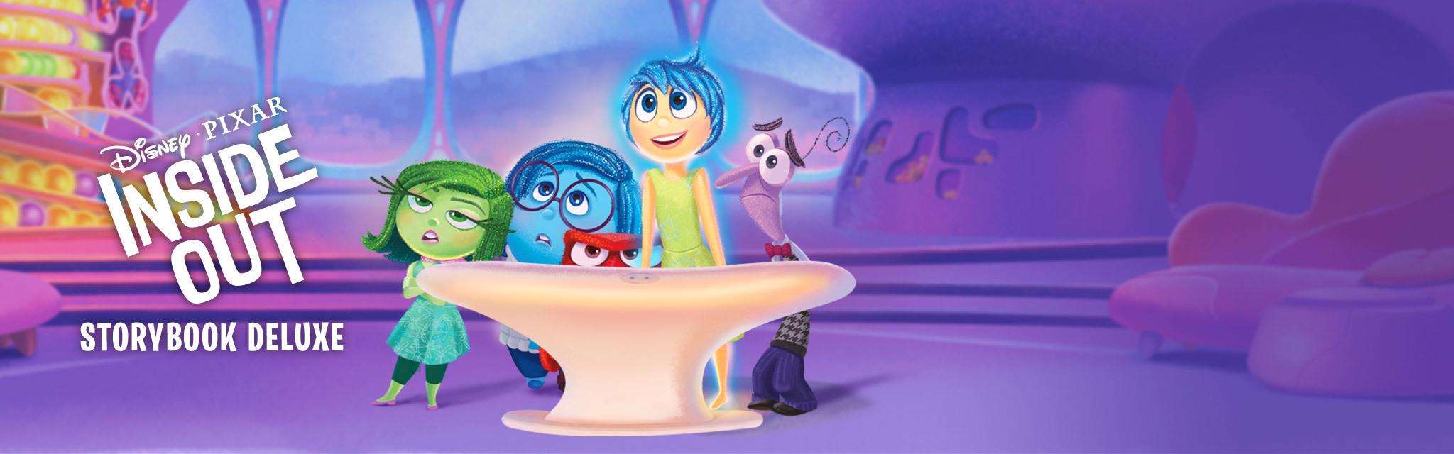 Inside Out: Storybook Deluxe App - Portal Hero - ID