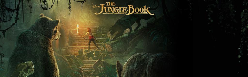 Homepage Hero - The Jungle Book - animated