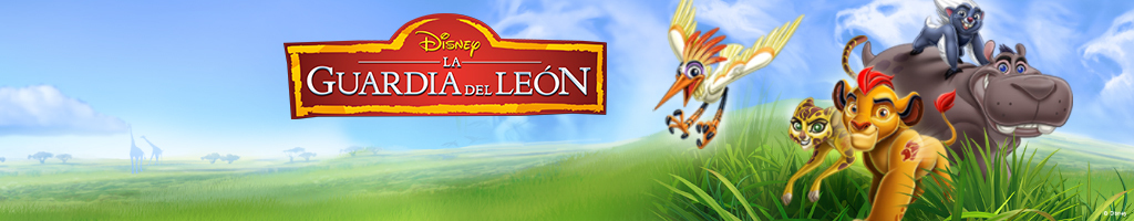 Lion Guard on-air promotion - Homepage Hero DJR