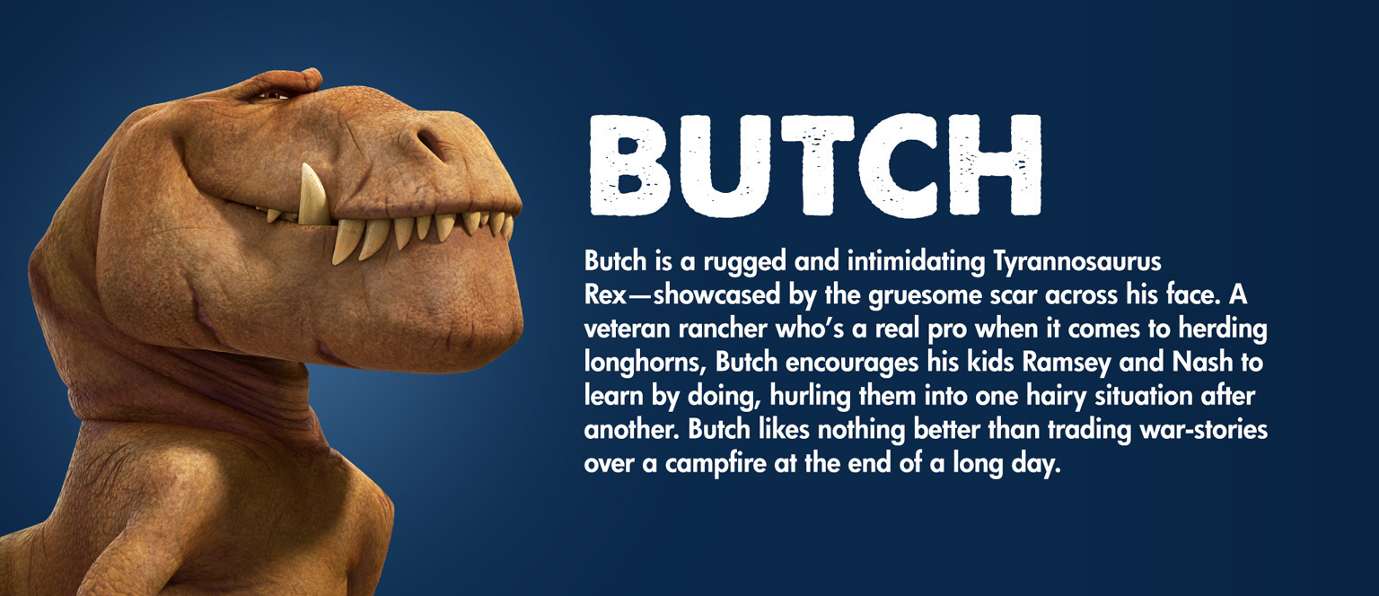 The Good Dinosaur Character Butch - SG