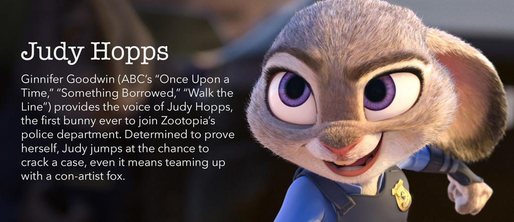 Zootopia - Judy Hopps Character - SG