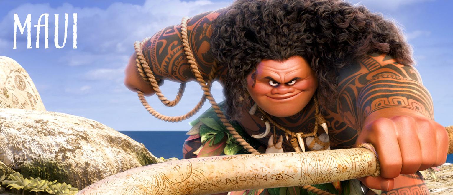 Moana - Character Hero - Maui