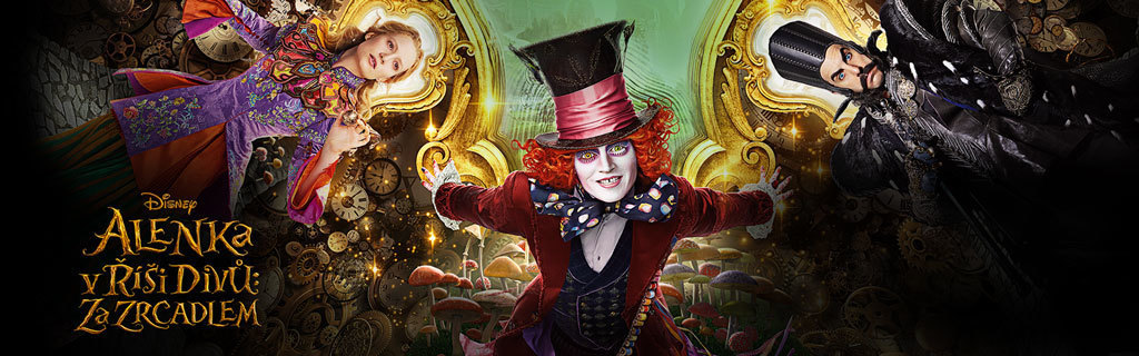 Alice Through the Looking Glass - In cinemas - Movies category page hero