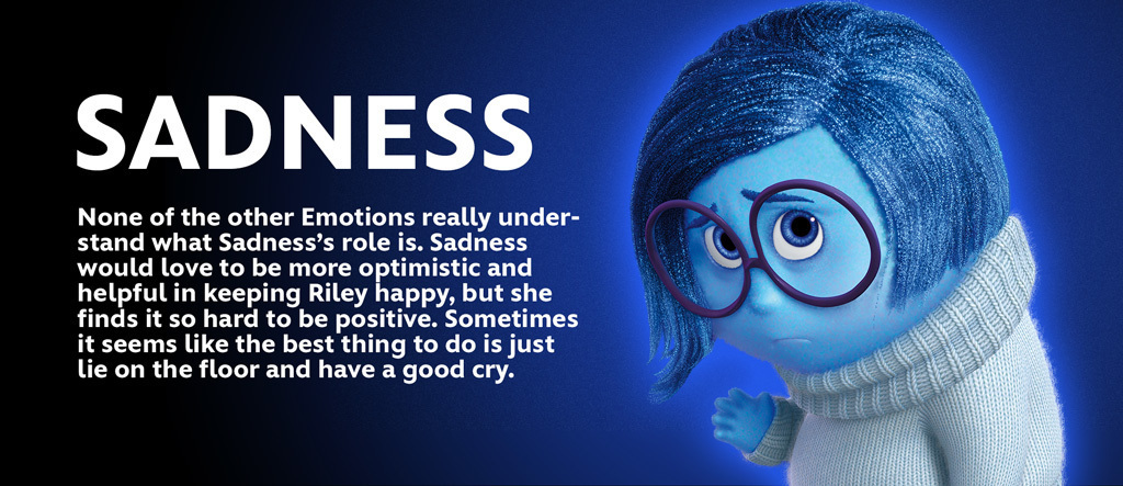 Inside Out - Sadness Character