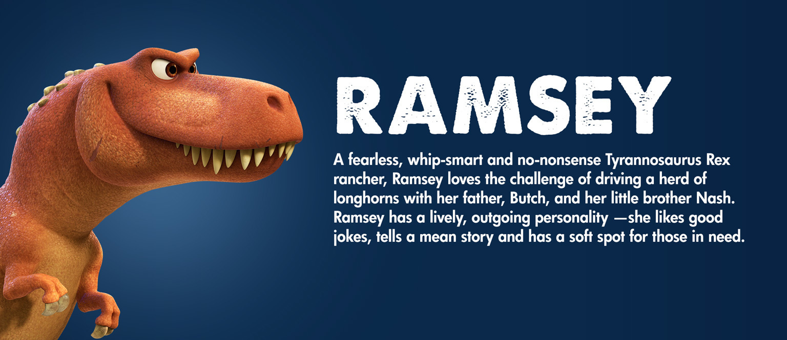 The Good Dinosaur - Character - Ramsey