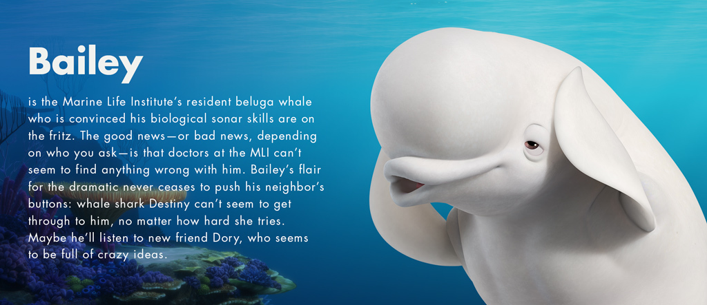 Finding Dory - Bailey character - PH