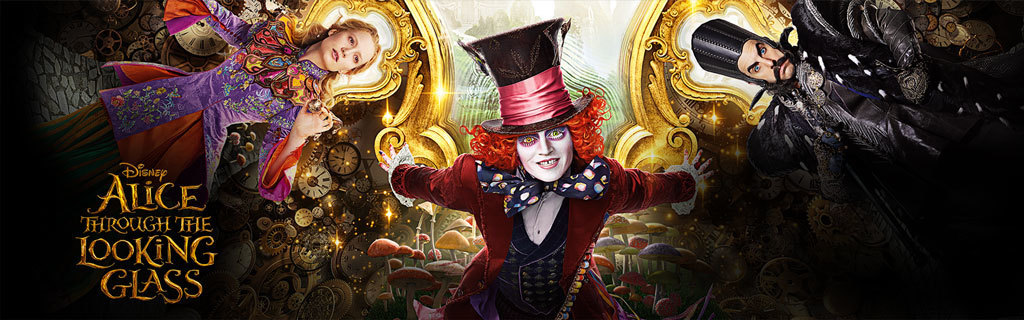 Homepage Hero - Alice Through The Looking Glass Mad Hatter