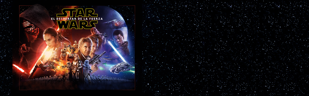 ES- Star wars - The force awaknes - Reserva DVD
