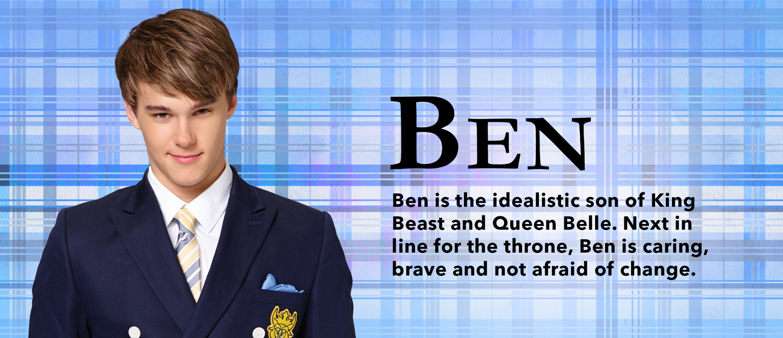 Descendants Character Slider Ben - SG